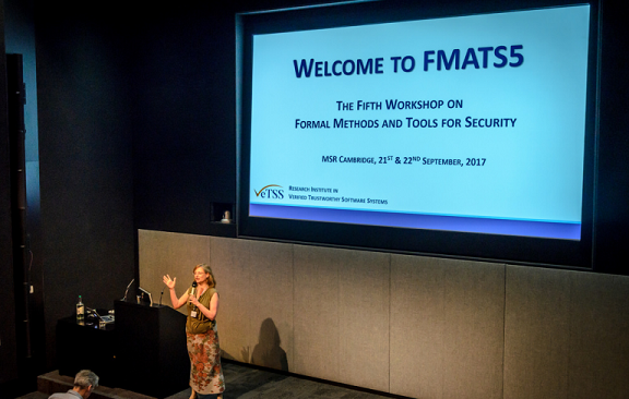 FMATS5 Welcome session